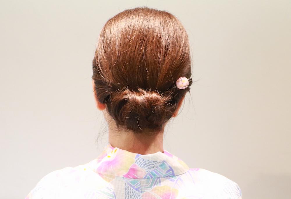 浴衣に合う【ミディアムヘアアレンジ】大人女子感が漂う♡はんなりアップスタイル