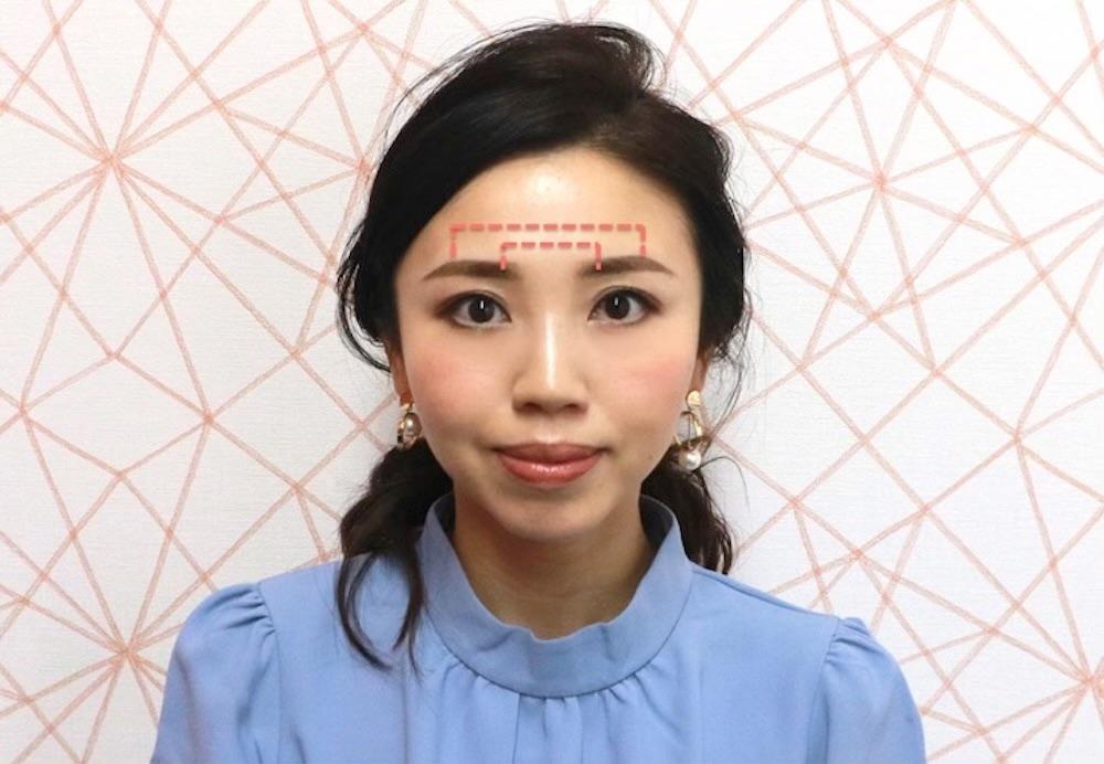 失敗しない!美人度がアップする眉の整え方!両方の眉毛の眉頭と眉山の高さを同じにするのがコツ。