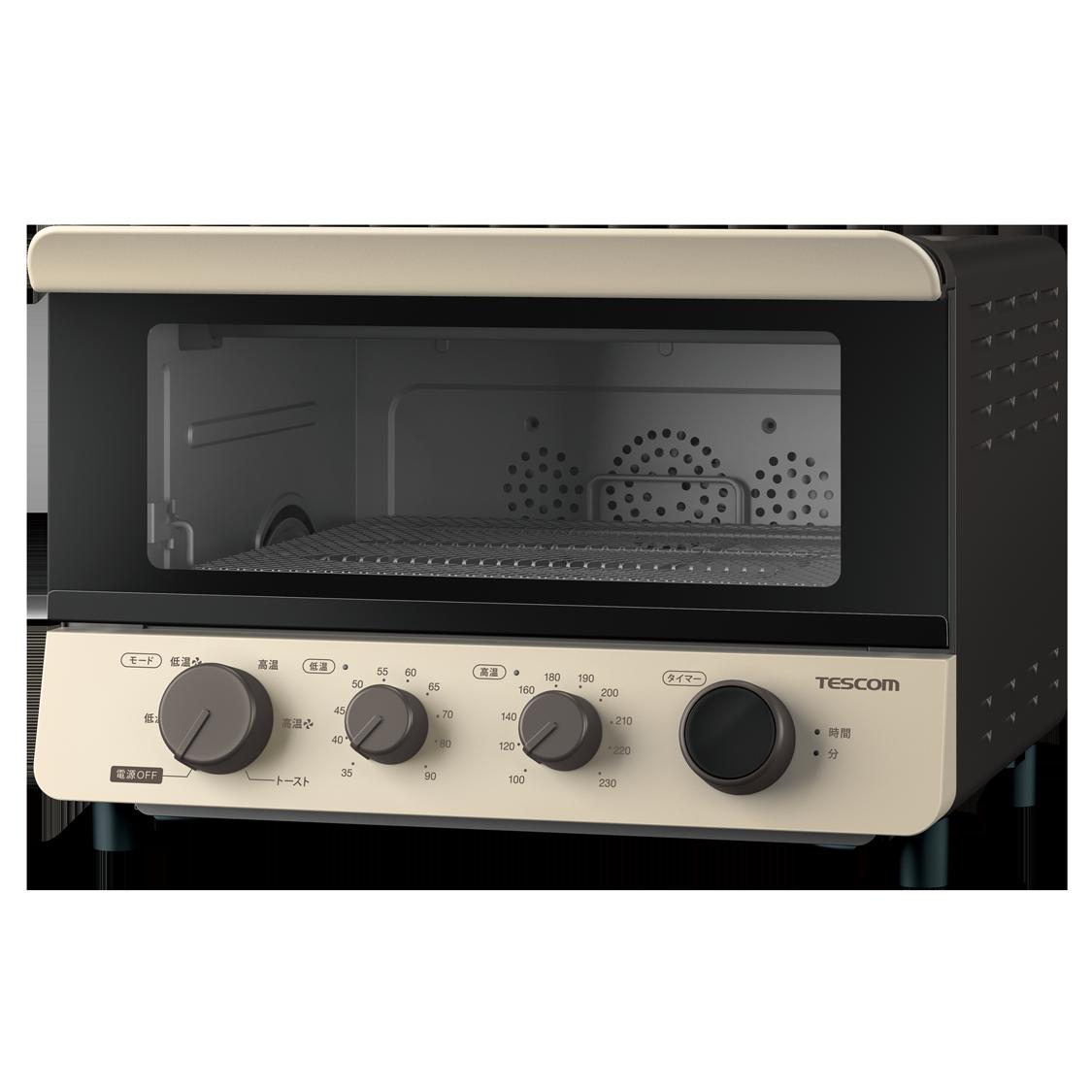 テスコム「低温コンベクションオーブン・TSF601」
