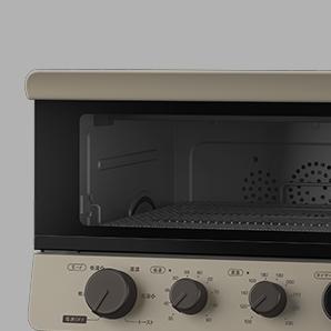 「オーブントースター」カテゴリの画像。画像の製品は低温コンベクションオーブン TSF601