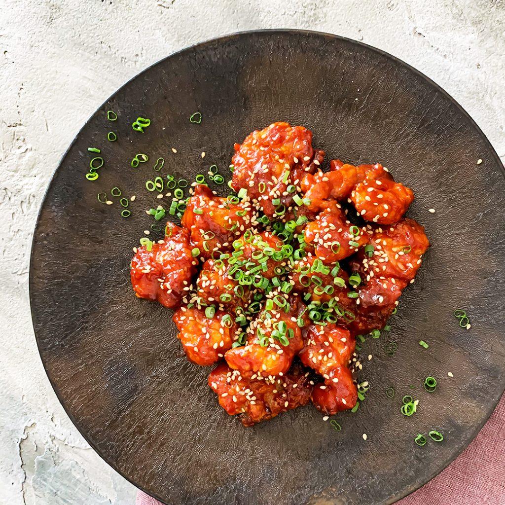 低温コンベクションオーブンでつくる「韓国風ヤンニョムチキン」