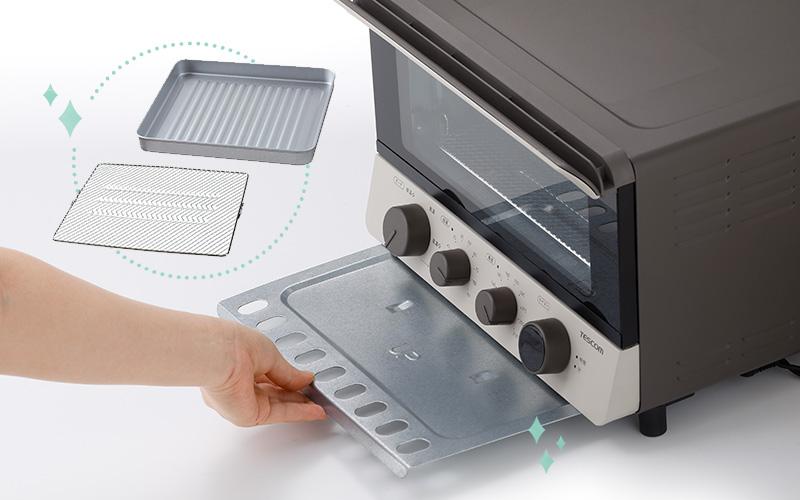 コンベクションオーブンの掃除の手順や便利アイテムをご紹介
